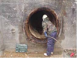 既設管洗浄作業(1)